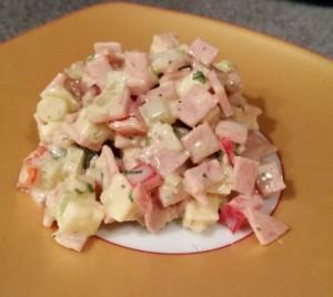 Käse - Wurst - Salat